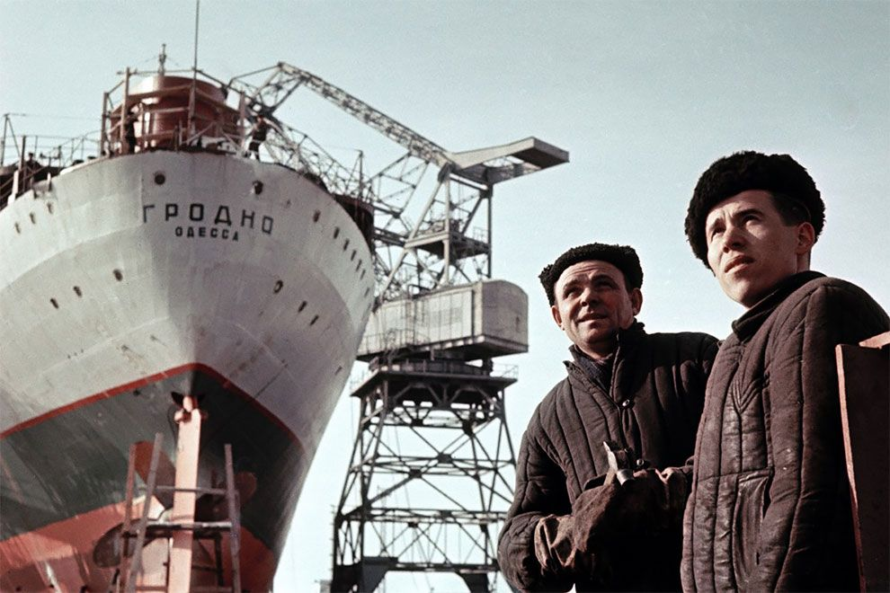 корабль, мужчины
