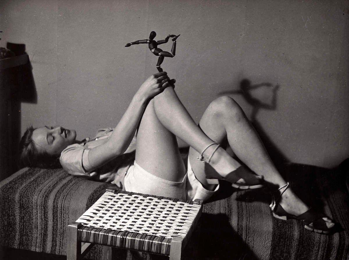 женщина, ноги