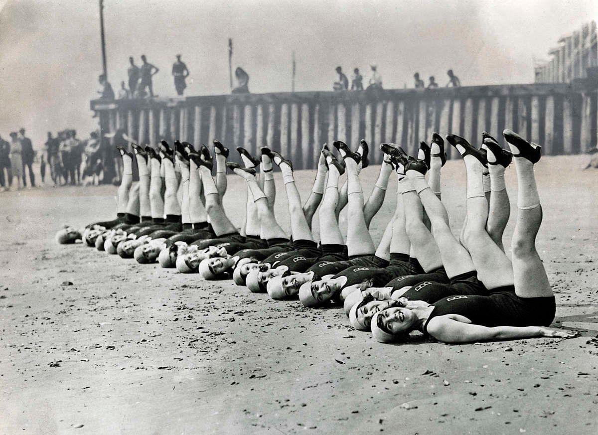купальники, женщины, ноги