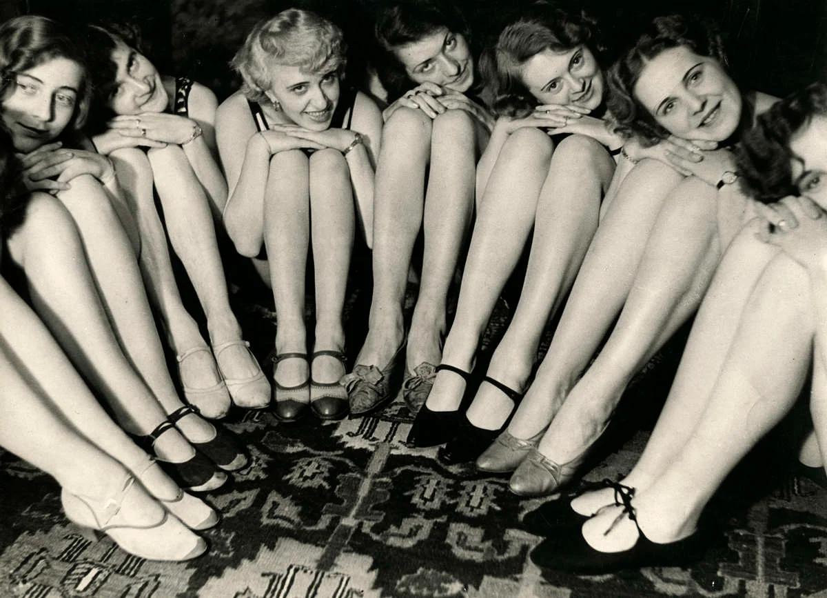 манекенщицы, ноги