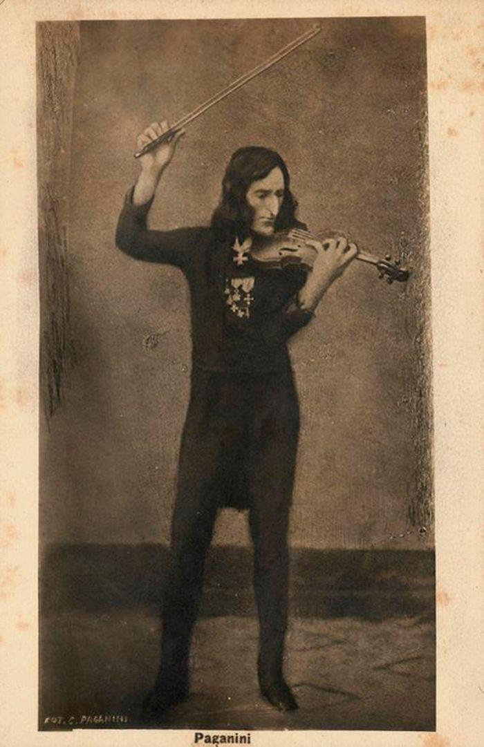 Паганини, скрипка