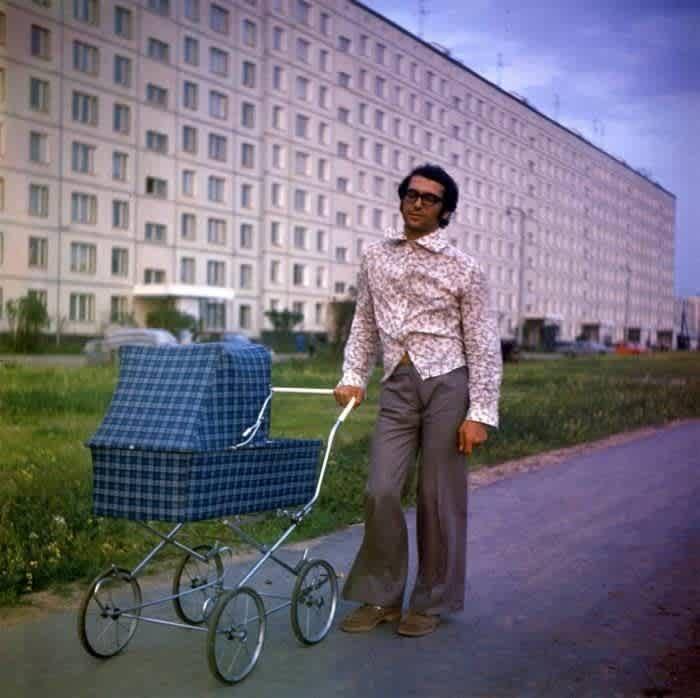 Стильный батя, СССР, 1975 год