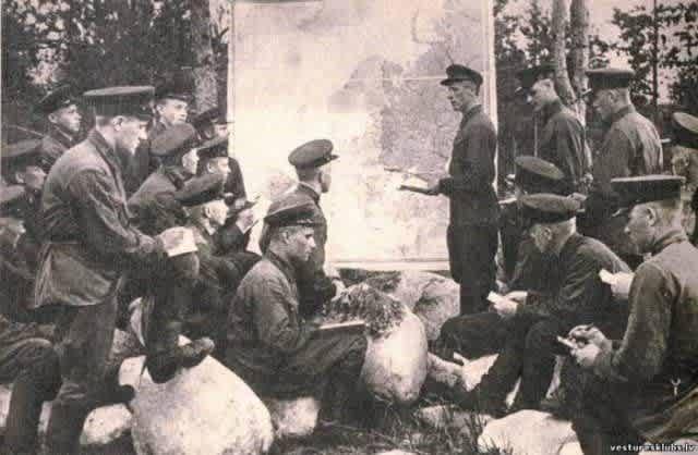 Политинформация, 1941 год, Лиепая, ЛССР