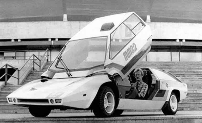 Cамодельный автомобиль «Панголина», советский ответ Lamborghini Countach и DeLorean DMC-12, собранный в Ухте электриком Александром Кулыгиным в 1980 году