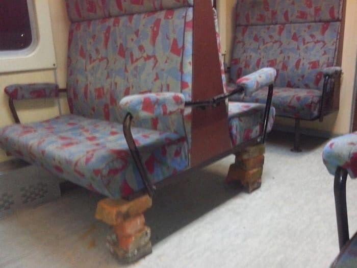 поезд, сиденье