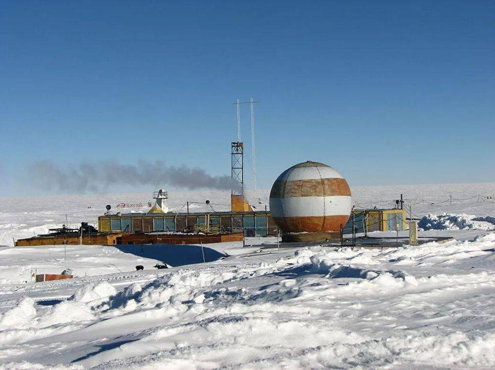 Антарктида, станция