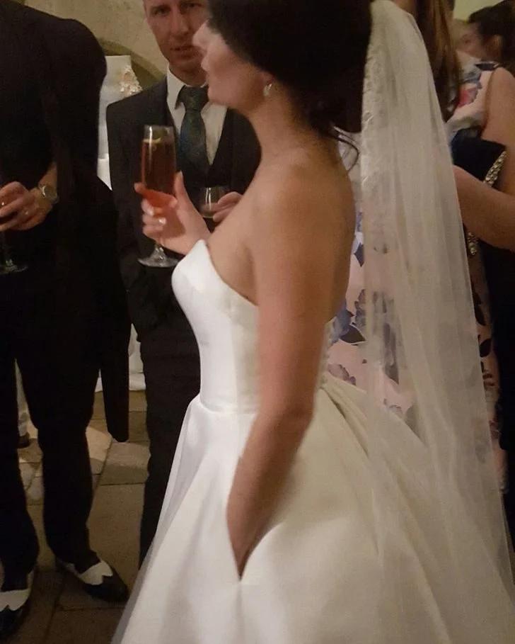 невеста, карман