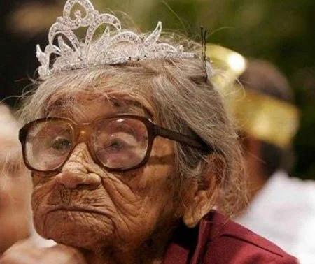 старушка,красота, корона