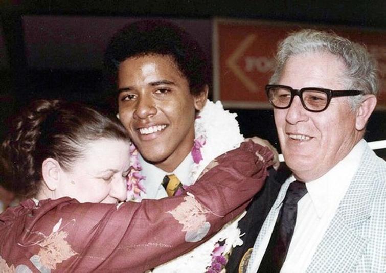 Обама, выпускной