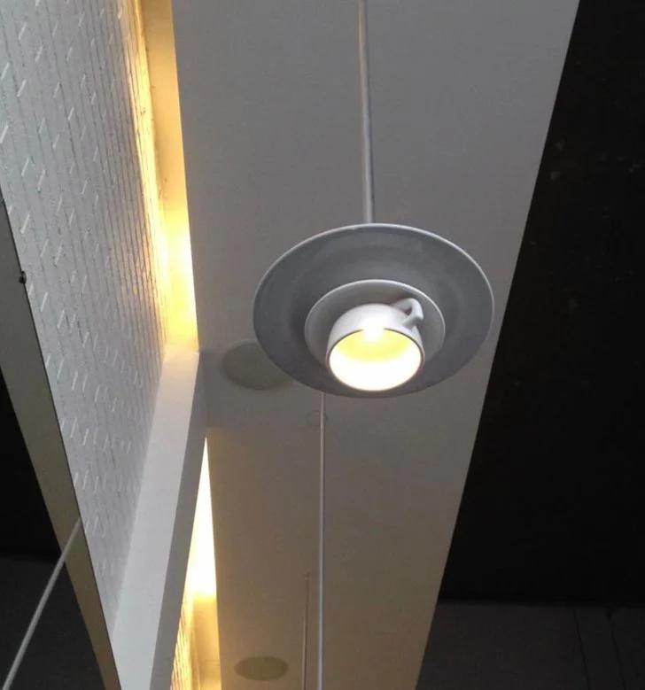 абажур, лампа