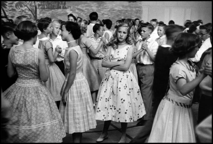 танцы, школа