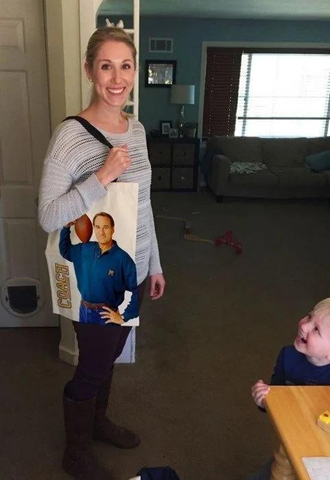 женщина, сумка подарок