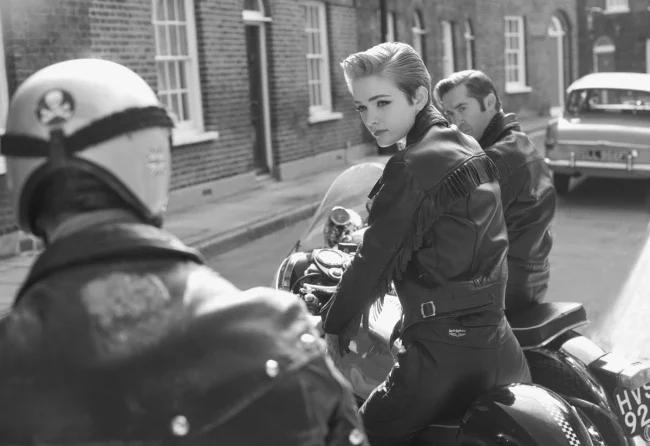 мотоцикл, байкер, женщина