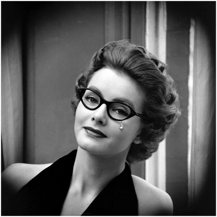 очки, женщина