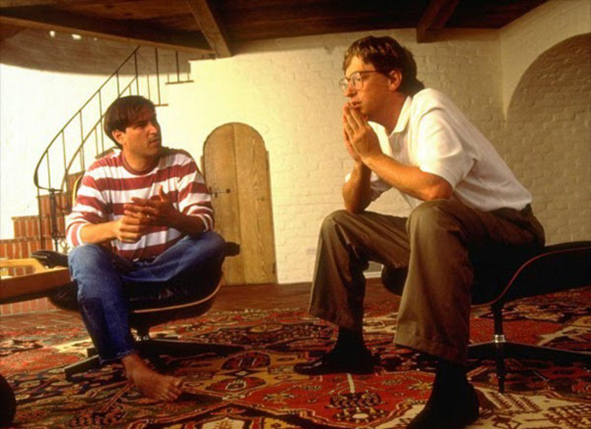 Билл Гейтс и Стив Джобс