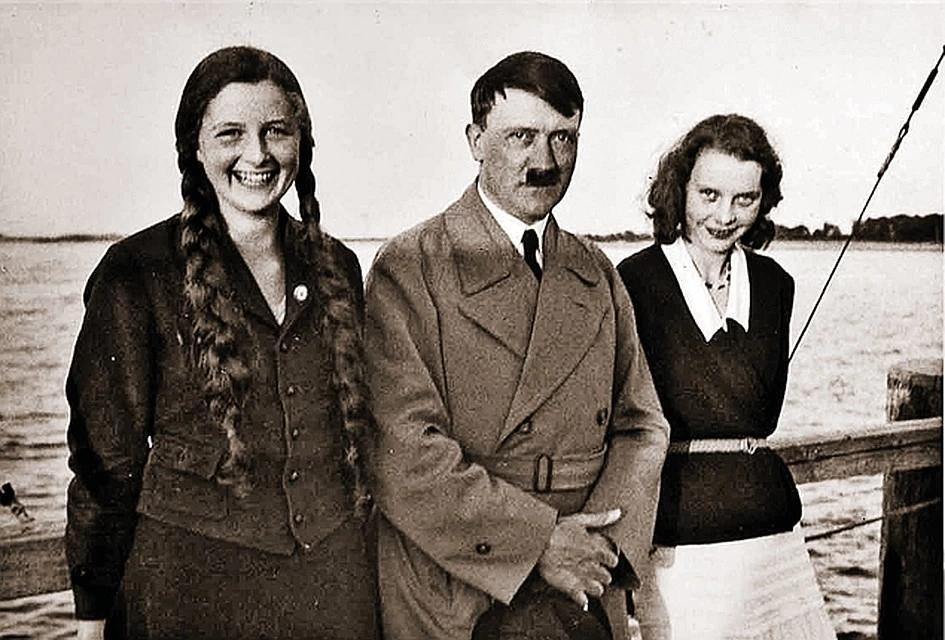 Гитлер, племянницы