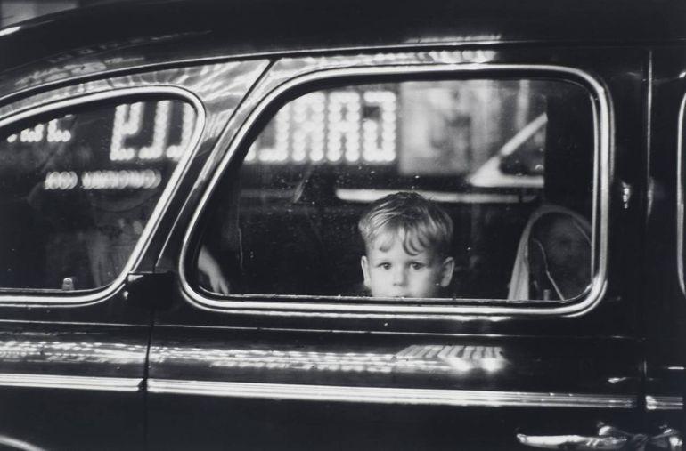 мальчик, автомобиль