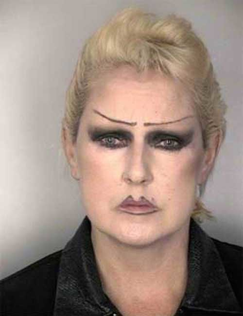 макияж, женщина