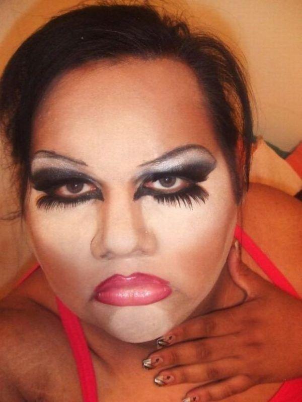 макияж, стиль, женщина