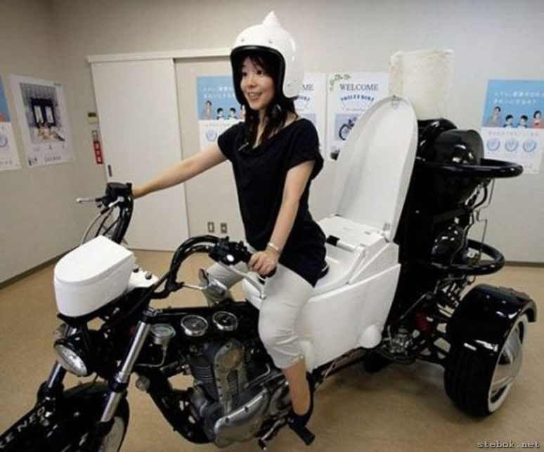 Даже если езда не безопасна - выход есть! / Фото: ©stebok.net