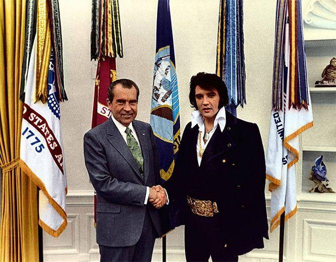 Никсон, Пресли, встреча