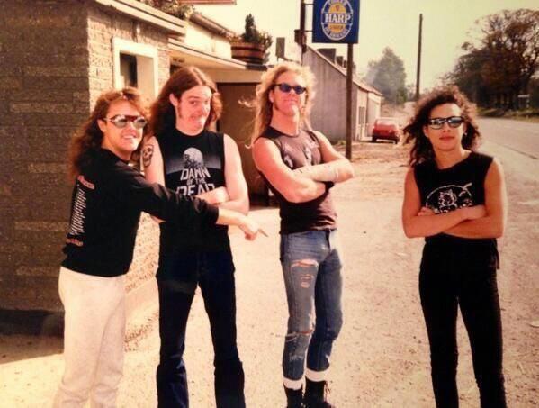 "Группа ""Металлика"", 1984 год"