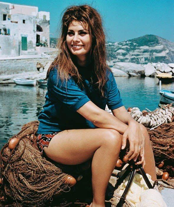 Итальянская актриса Софи Лорен
