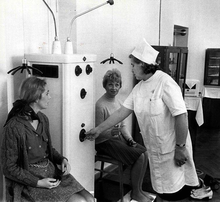 Советское оборудование для снятия головной боли
