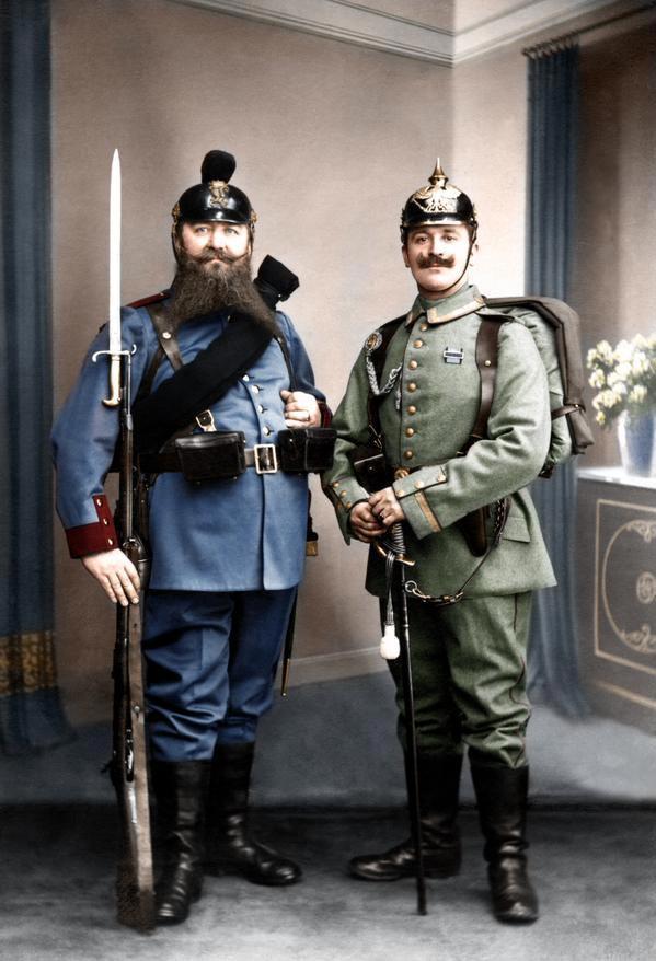 В начале прошлого века в немецкой армии сменилась форма