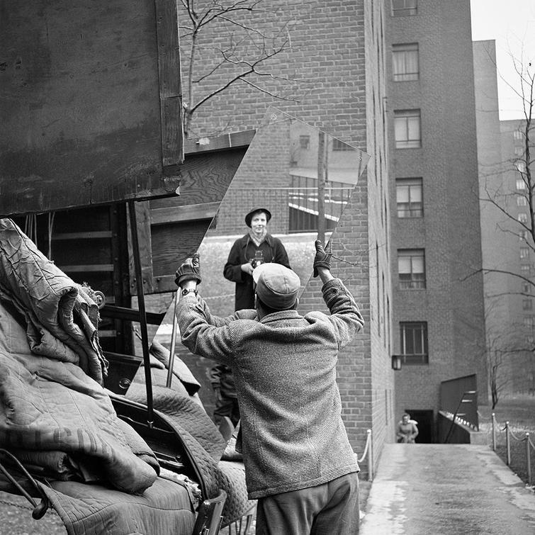 Автопортрет фотохудожницы Вивиан Майер