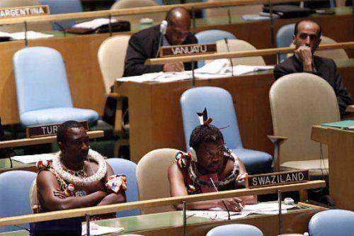 Заседание ООН не помеха для выражения собственной уникальной культуры / Фото: ©mixnews.lv