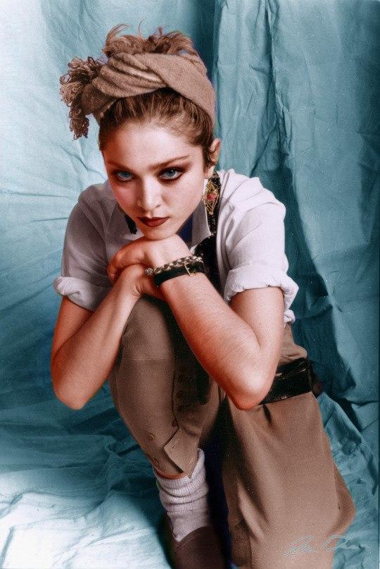 И в этом взгляде вся Мадонна / Фото: ©mixnews.lv