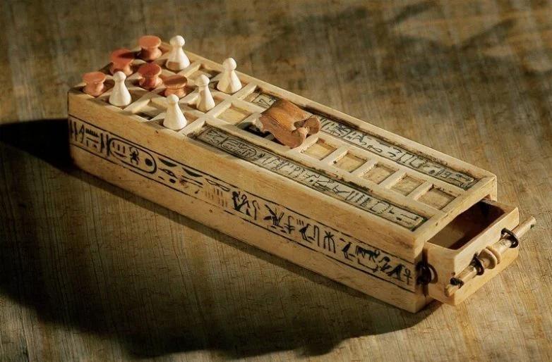 игра, Тутанхамон