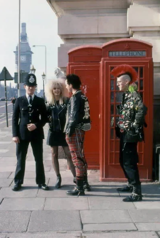 Констебль и панки, 1980–е годы, Лондон