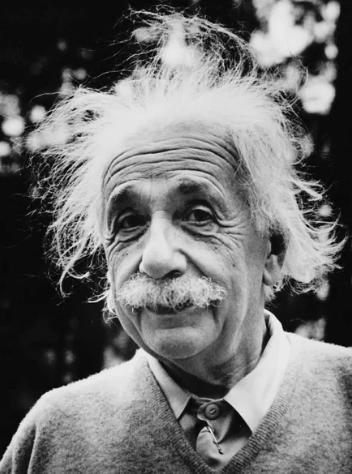 Энштейн, усы