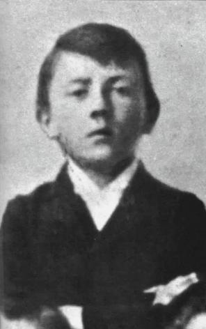 гитлер, юность