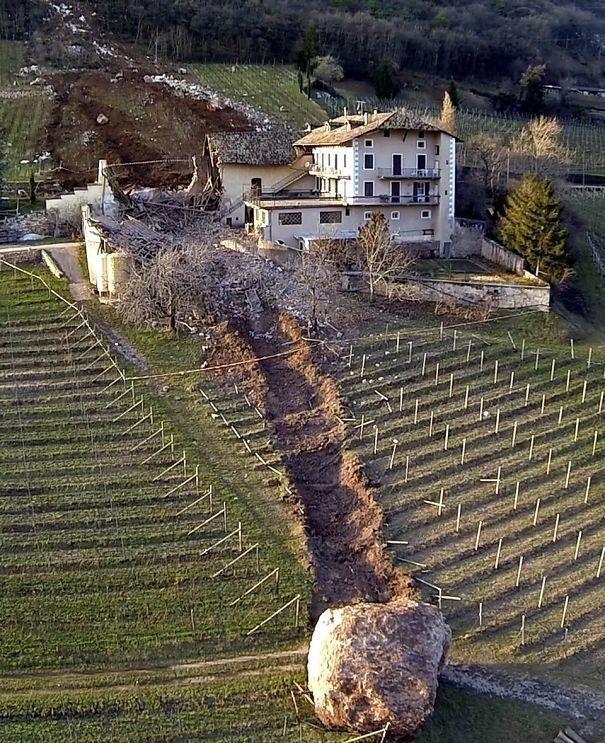 дом, камень, снос