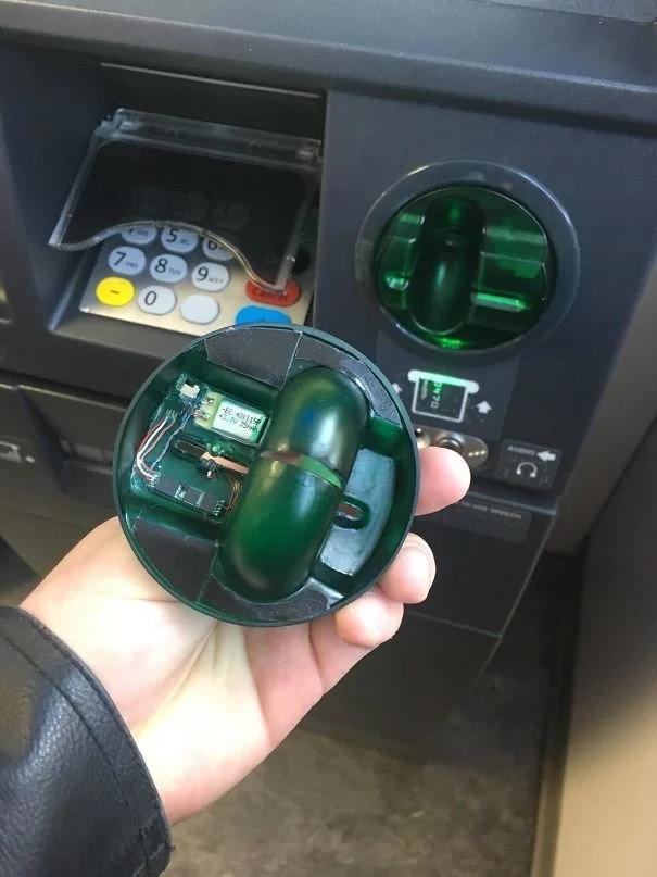 банкомат, обман