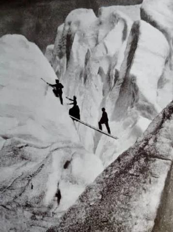 альпинисты, горы