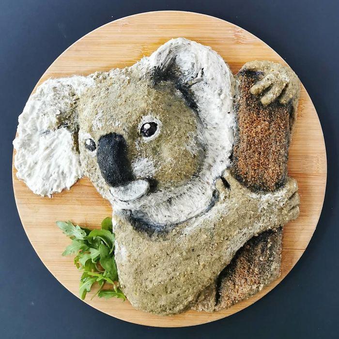 еда, тарелка, животное