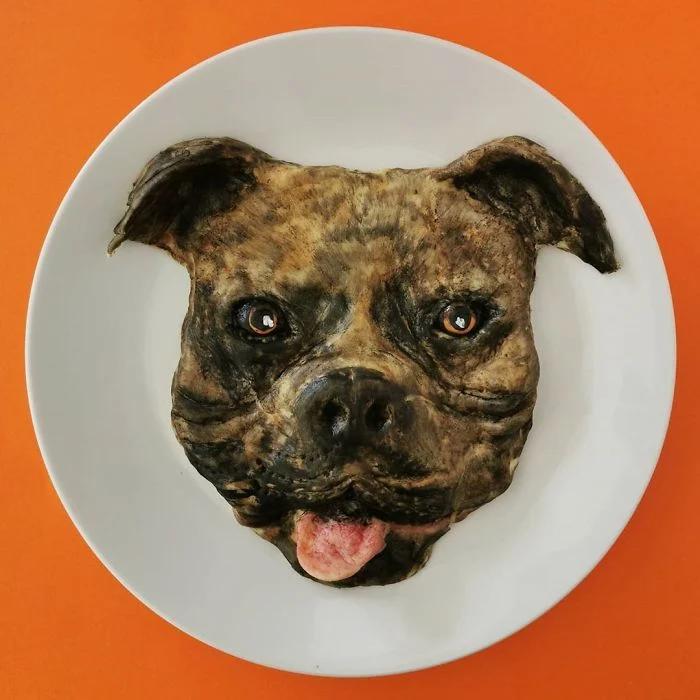 еда, собака