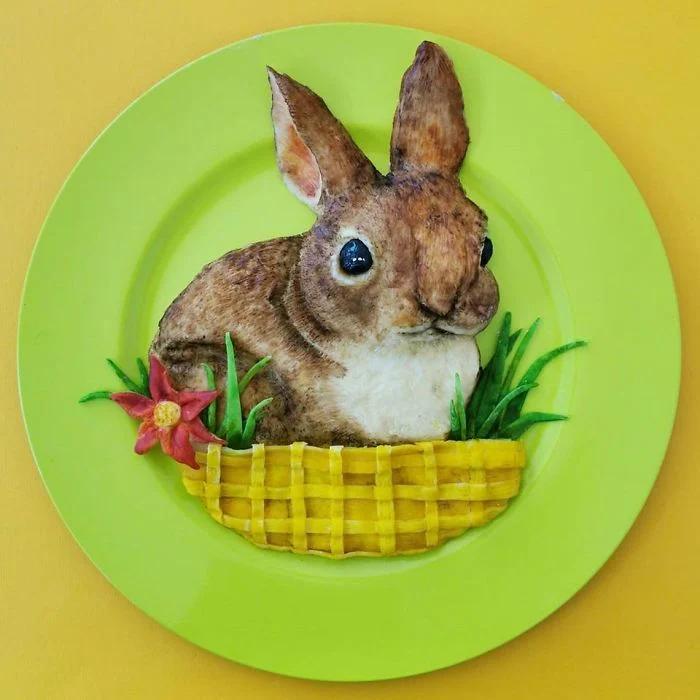 еда, кролик