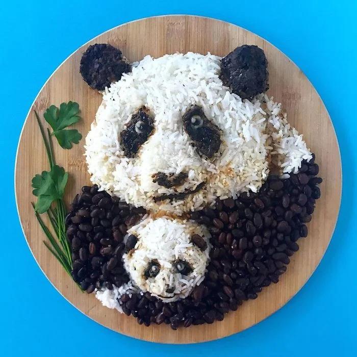 еда, панда