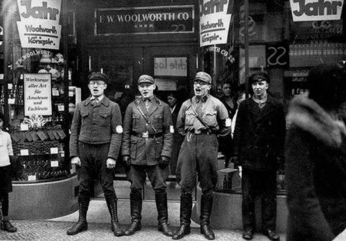Нацисты пользовались разными средствами агитации - даже песнями / Фото: ©masterok.livejournal.com