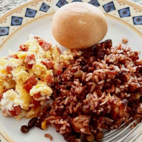 Завтрак на Коста-Рика