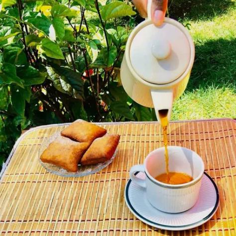Завтрак в Кении