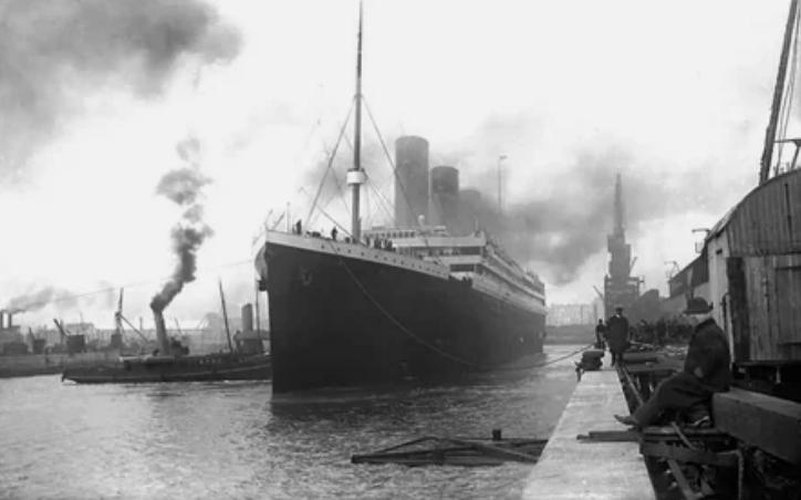Титаник перед отплытием 1912 год