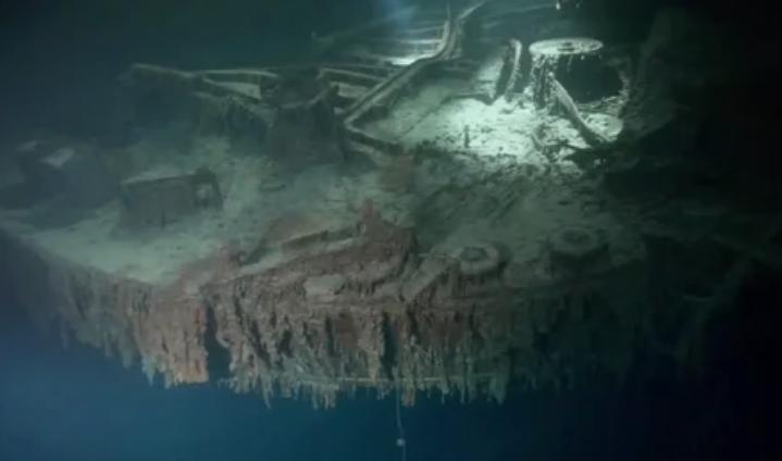 Фото Титаника спустя 100 лет после крушения