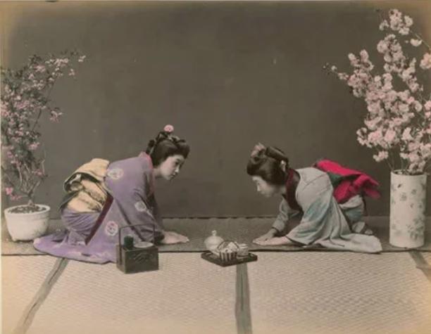 гейши, церемония
