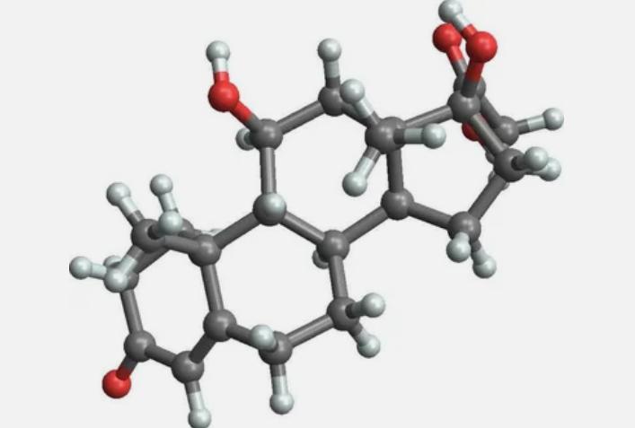кортизол, молекула